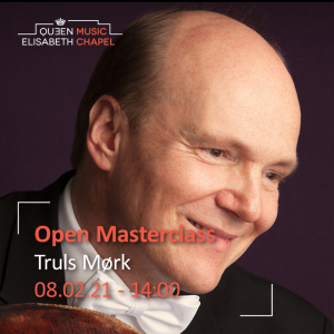 Open Masterclass : cello – Truls Mørk