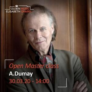 Open Masterclass – Augustin Dumay