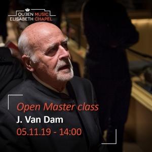 Open Master class – José van Dam