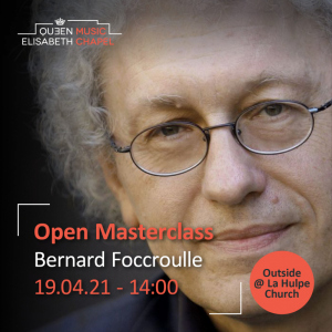 Open Masterclass : organ – B. Foccroulle