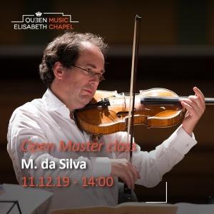 Open Master class – Miguel da Silva