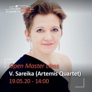 Open Masterclass – Vineta Sareika