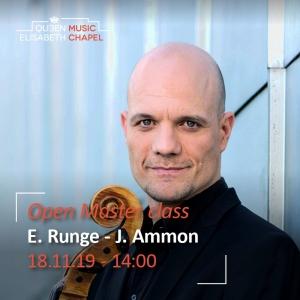 Open Master class – E. Runge & J. Ammon