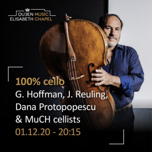 100% Cello – G. Hoffman, J. Reling, D. Protopopescu & Music Chapel Cellists