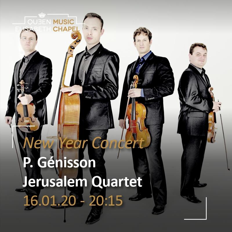 New Year Concert – Jerusalem Quartet, P. Génisson