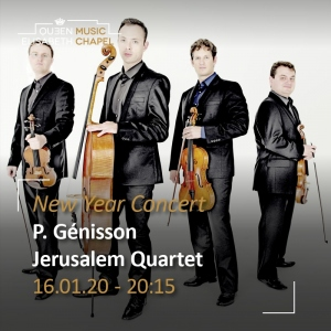 New Year Concert – Jerusalem Quartet, P. Génisson