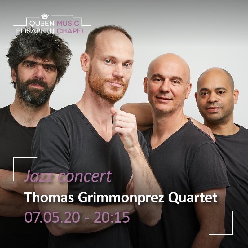 Canceled – Jazz Concert – Thomas Grimmonprez quartet
