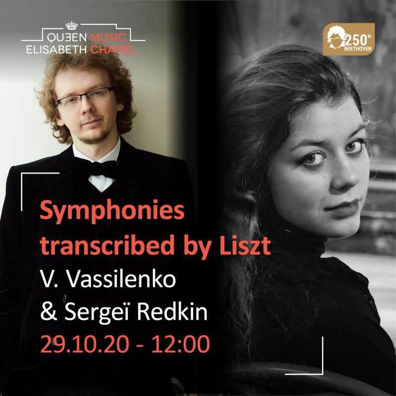 Symphonies – V. Vassilenko & Sergeï Redkin – L. van Beethoven & F. Liszt