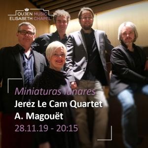 Miniaturas – Suites pour quartet et voix