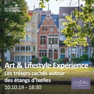 Art & Lifestyle Exp. – Les trésors cachés autour des étangs d'Ixelles