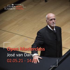 Open Masterclass : voice – J. van Dam