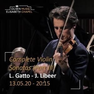 Cancelled – Beethoven's Violin Sonatas – Part III