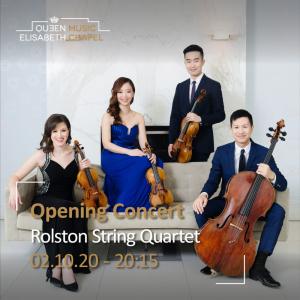 Opening Concert – Rolston String Quartet & J. C. Vanden Eynden