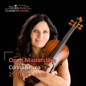 Open Masterclass : chamber music – C. Belcea