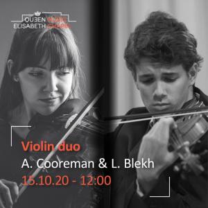 Violin Recital – A. Cooreman & L. Blekh