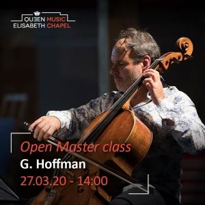 Open Masterclass- Gary Hoffman