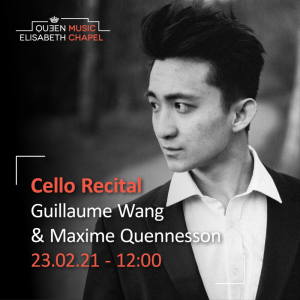 Cello Recital – G. Wang & M. Quennesson