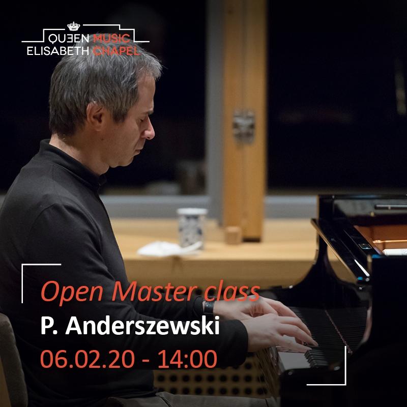 Open Master class – Piotr Anderszewski