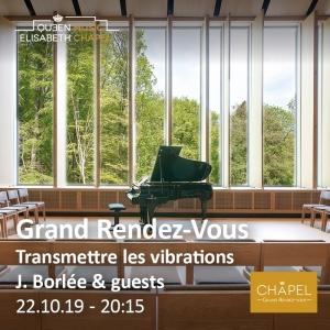 Grand Rendez-vous – Transmettre les vibrations – Jacques Borlée