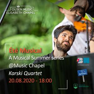Eté musical – Karski Quartet