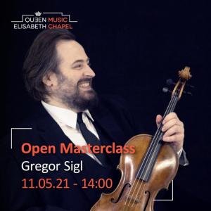 Open Masterclass: chamber music – G. Sigl