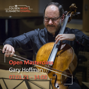 Open Masterclass : cello – G. Hoffman, cello