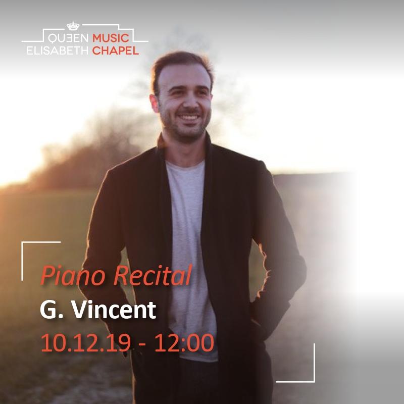 Piano Recital – Guillaume Vincent