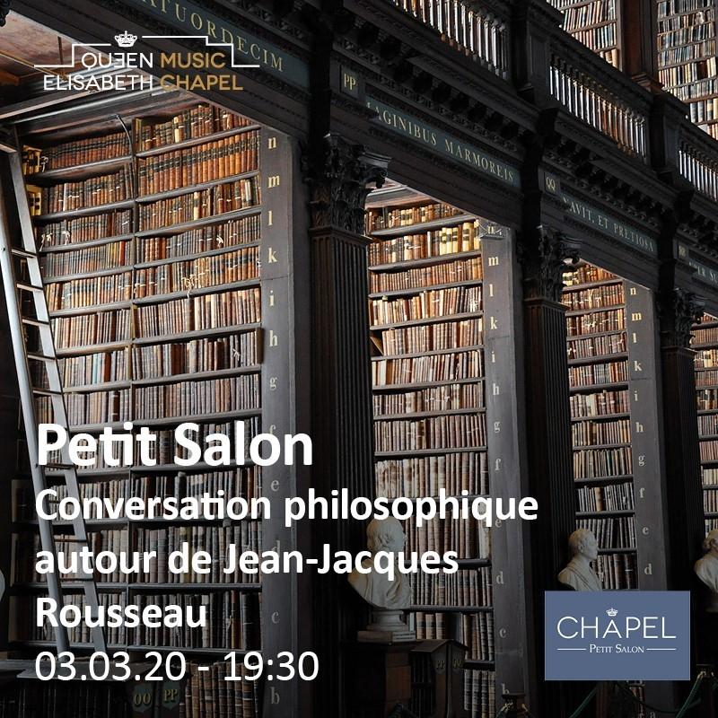 Petit Salon – Conversation philosophique autour de Rousseau