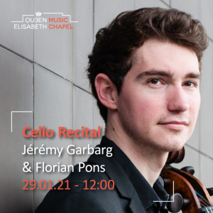 Cello Recital – J. Garbarg & F. Pons