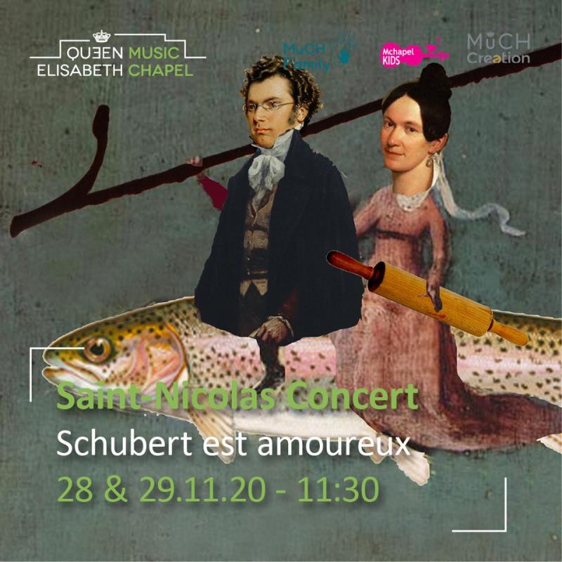 Schubert est amoureux – Saint-Nicolas Concert