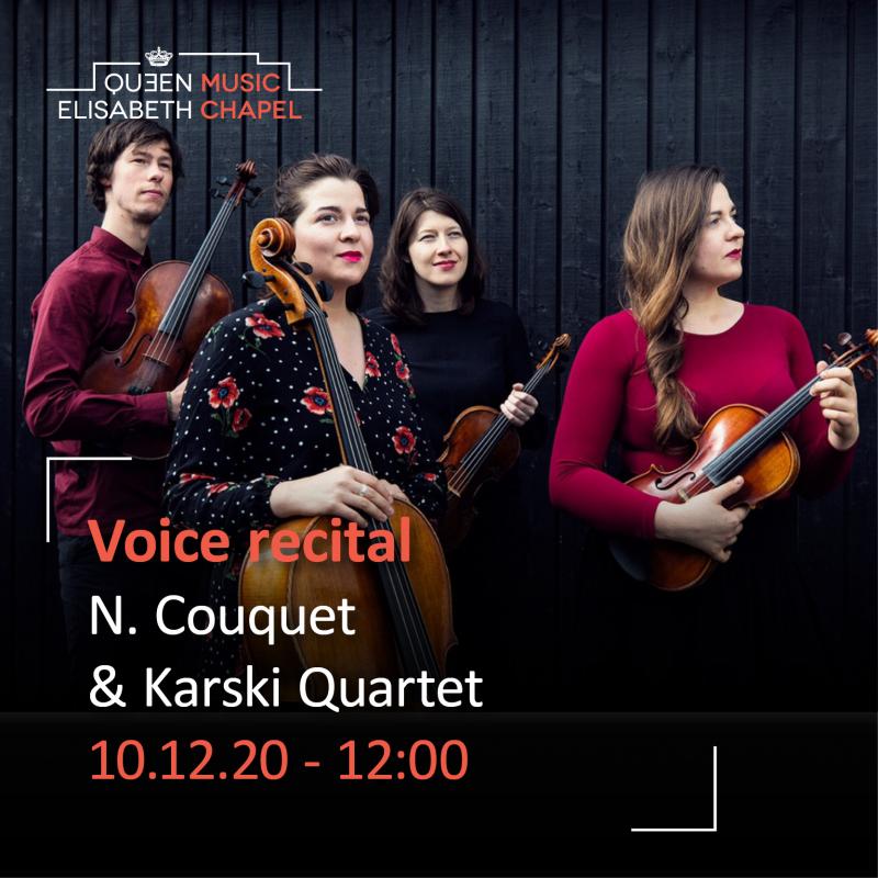 Voice recital – N. Couquet & Karski Quartet