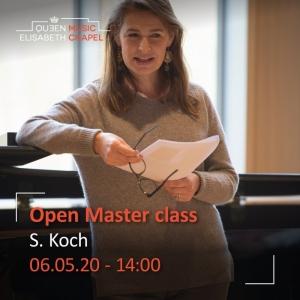 Open Masterclass- Sophie Koch