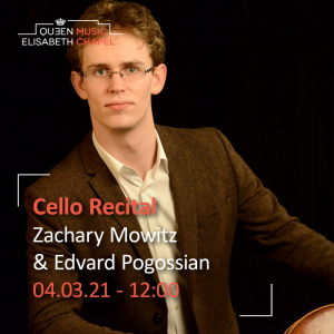 Cello Recital – Z. Mowitz & E. Pogossian