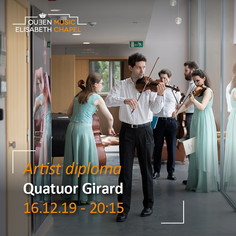 Artist Diploma – Quatuor Girard