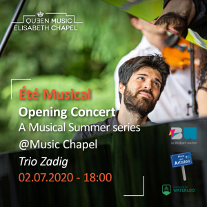 Eté musical – Trio Zadig