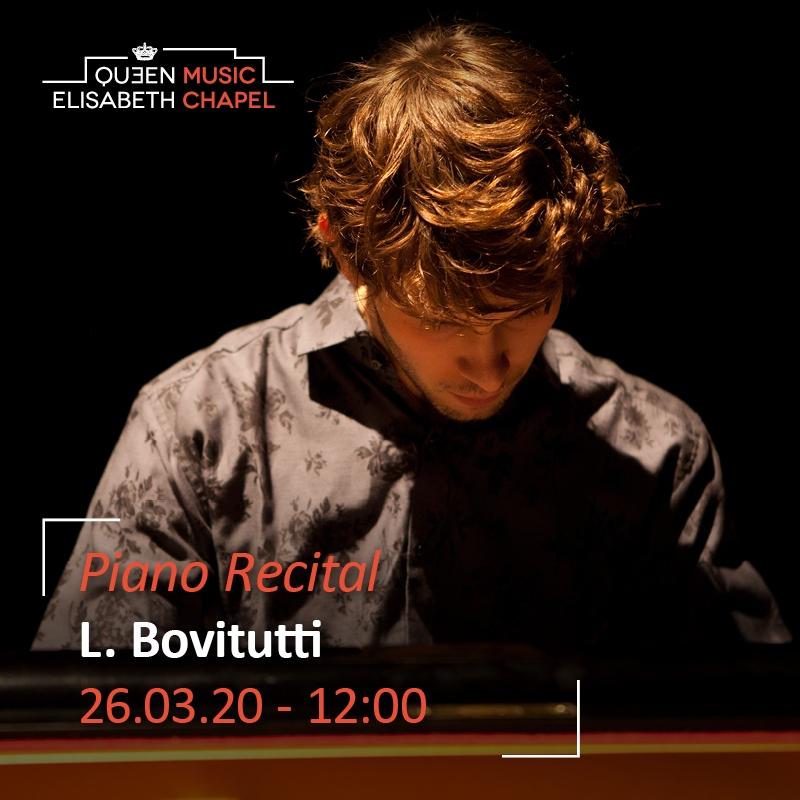 Piano Recital – Lorenzo Bovitutti