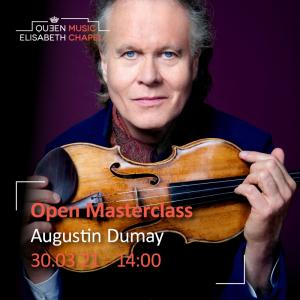 Open Masterclass : violin – A. Dumay