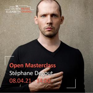 Open Masterclass : voice – S. Degout