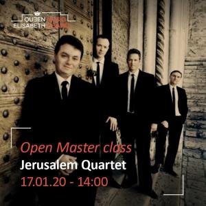 Open Master class – Jerusalem Quartet