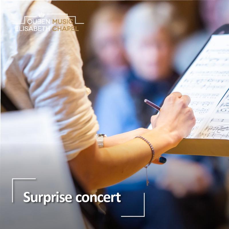 Surprise concert
