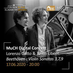MuCH Digital Concert – Lorenzo Gatto & Julien Libeer