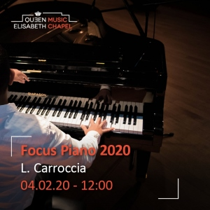 Laboratory – Piano Recital – Luigi Carroccia
