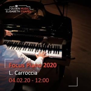 Laboratory – Piano Recital – Josquin Otal