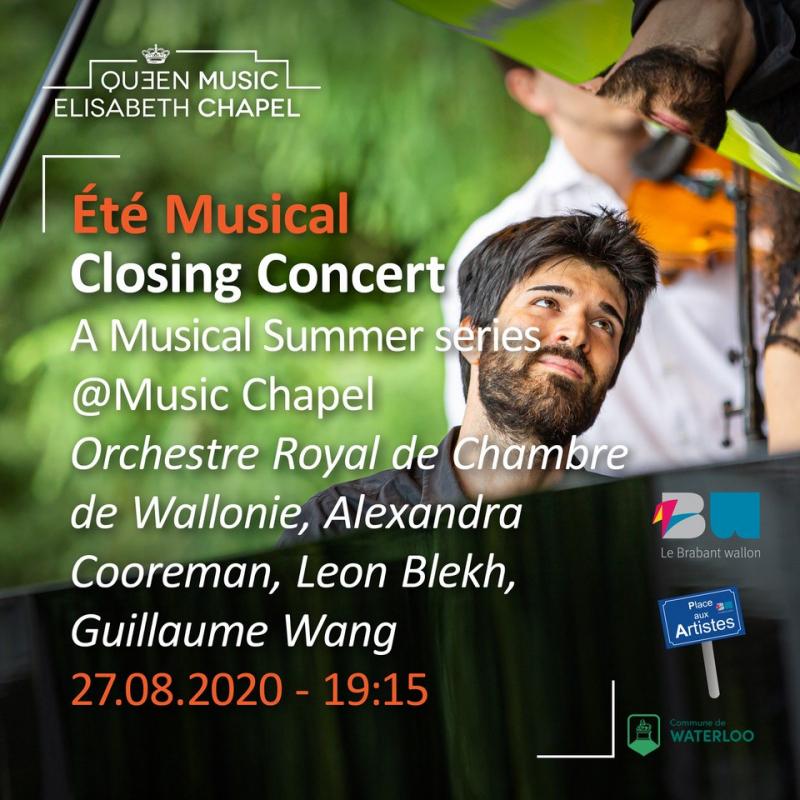 Eté musical – Closing concert