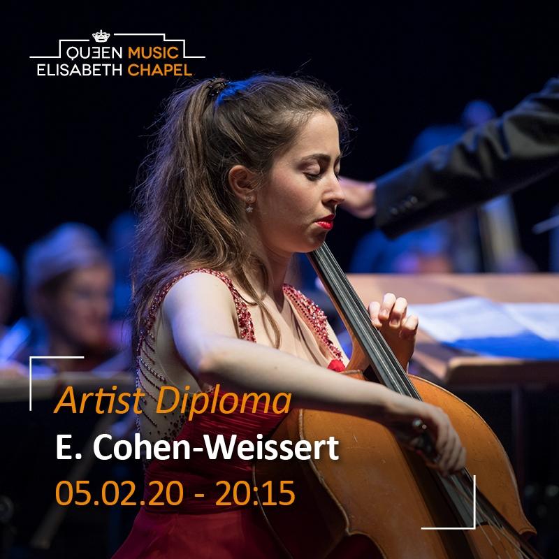 Artist Diploma – Elia Cohen-Weissert