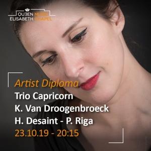 Artist Diploma – Trio Capricorn