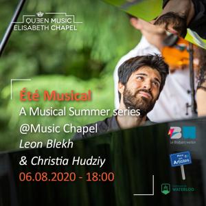 Eté musical – L. Blekh & C. Hudziy