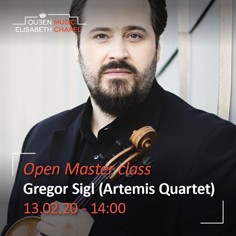 Open Master class – Gregor Sigl