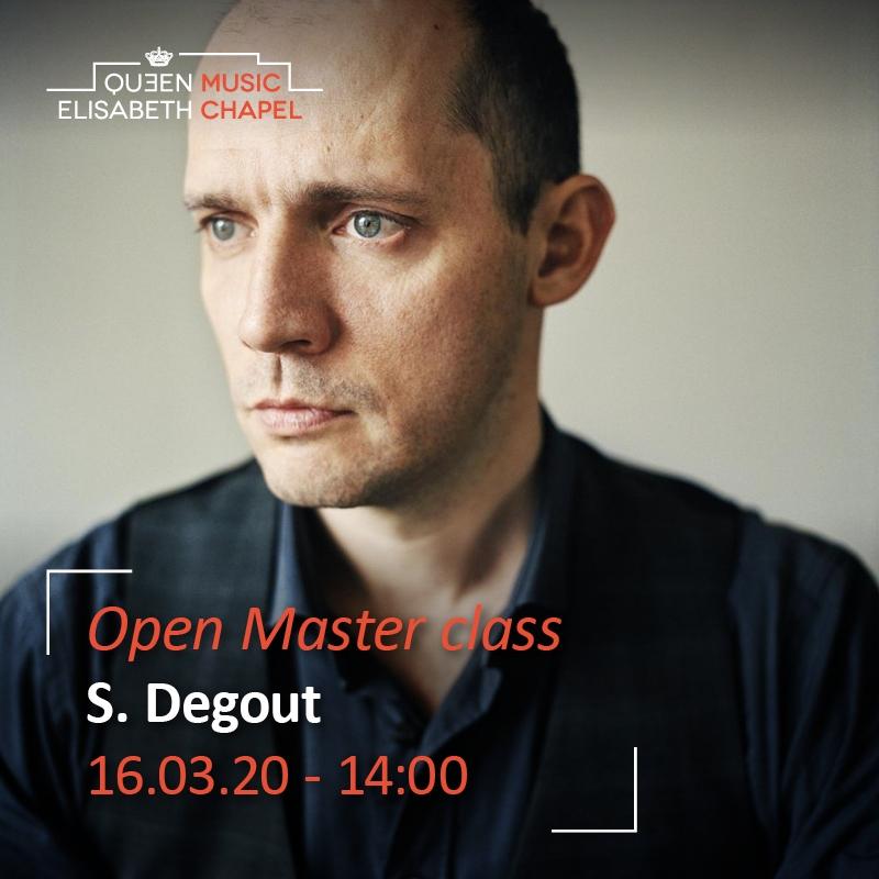 Open Masterclass – Stéphane Degout
