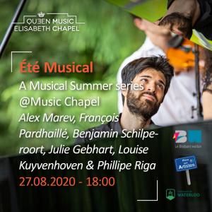 Eté musical – Music Chapel singers & P. Riga